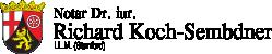 Notar Dr. Richard Koch-Sembdner